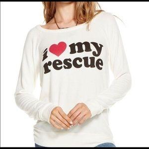 Chaser Love My Rescue Top - Medium B